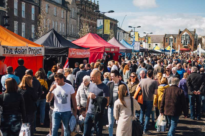 BISHOP AUCKLAND FOOD FESTIVAL 21ST-22ND APRIL 2018